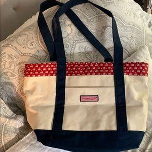 American Flag Vineyard Vines tote